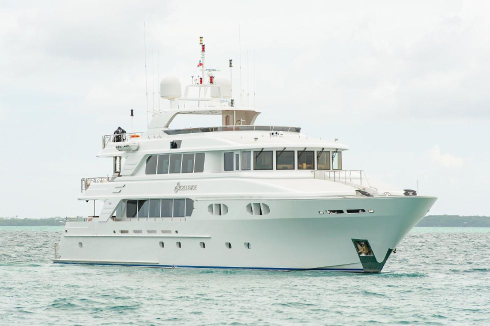 2010 Richmond Yachts Tri-Deck Motor Yacht - AT ANCHOR STARBOARD
