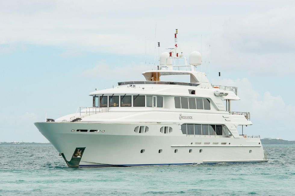 2010 Richmond Yachts Tri-Deck Motor Yacht - AT ANCHOR PORT