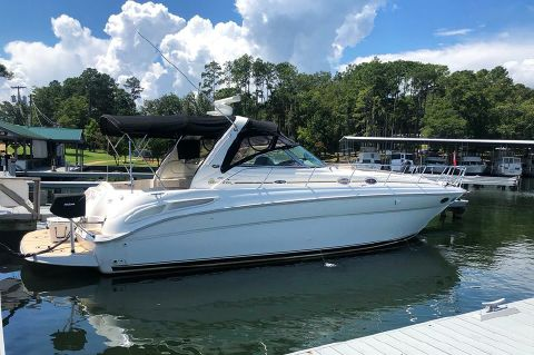 2003 Sea Ray 380 Sundancer - STBD profile