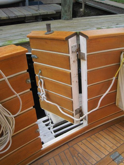 1987 Kadey-Krogen 42 Pilothouse Trawler Stabilized & Centerline Queen - Transom door in cockpit