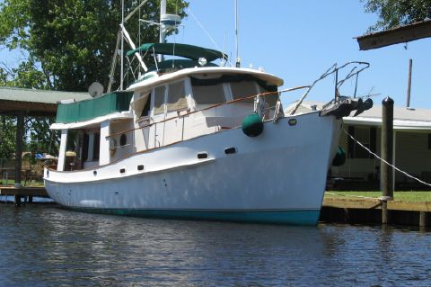 1987 Kadey-Krogen 42 Pilothouse Trawler Stabilized & Centerline Queen - No Call