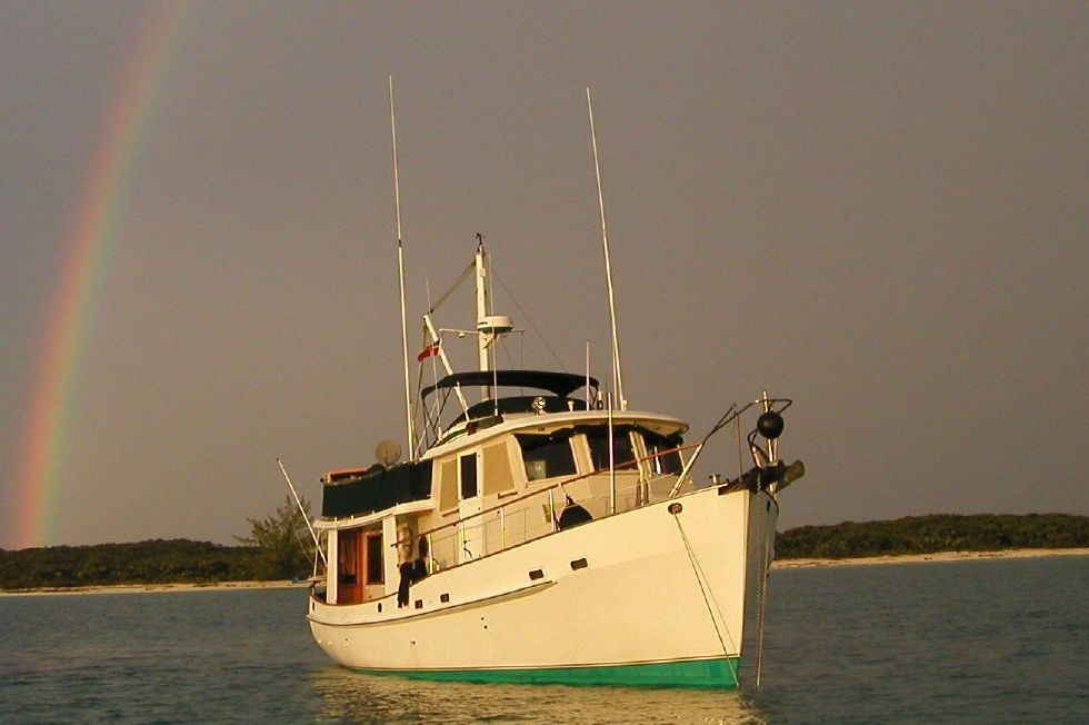 1987 Kadey-Krogen 42 Pilothouse Trawler Stabilized & Centerline Queen - Cruising