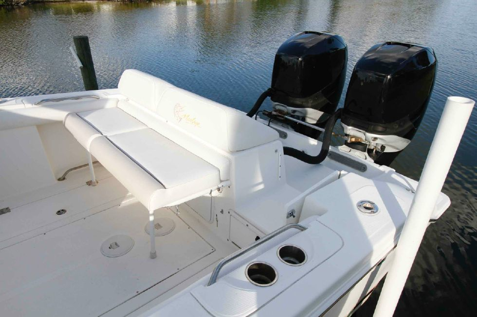 Removable Aft Seating Marlago 35 Sport Cuddy