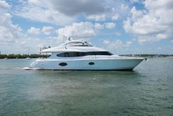 2007 Lazzara Yachts Open Bridge Hard Top