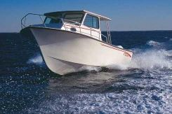 2002 May-Craft 2550 Pilothouse Cabin