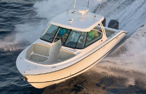 2018 Pursuit DC 325 Dual Console