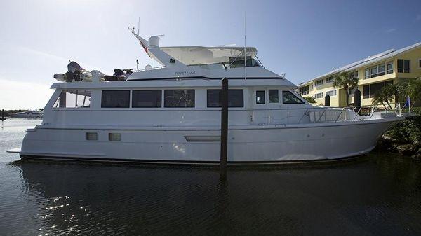 Hatteras Cockpit Motoryacht Profile