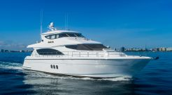 2005 Hatteras 80' Enclosed Bridge Skylounge