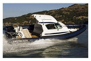 2009 Protector Targa 28 - Manufacturer Provided Image