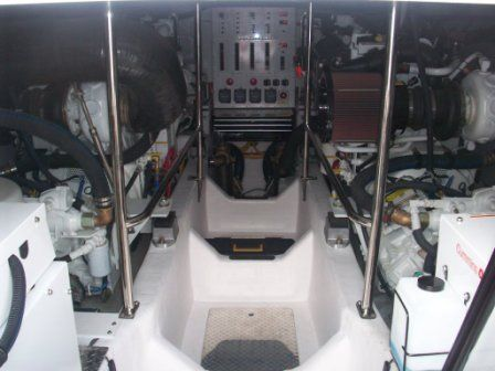 2008 Sabre 52 Salon Express - Engine Room