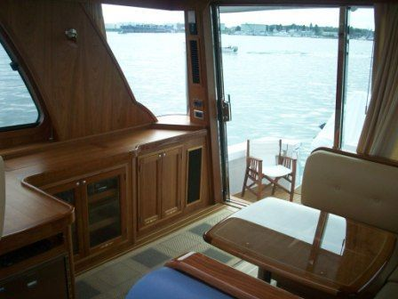 2008 Sabre 52 Salon Express - Custom Entertainment Center