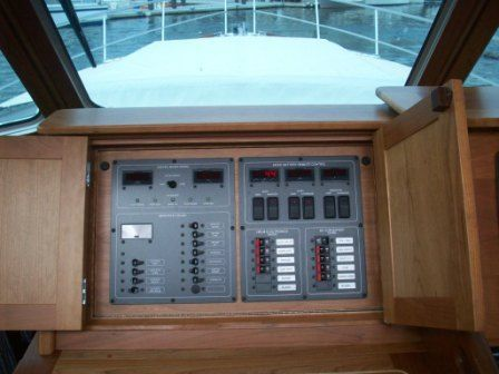 2008 Sabre 52 Salon Express - Battery/Electrical Management Panel