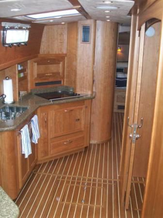 2008 Sabre 52 Salon Express - Foward Galley