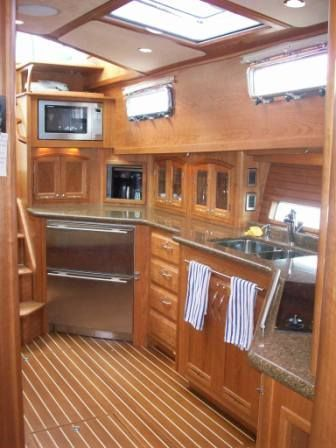 2008 Sabre 52 Salon Express - Aft Galley