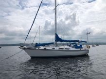 1985 Hunter 37' Cherubini Cutter