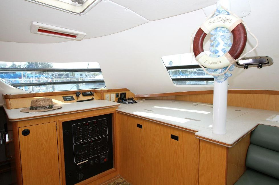 Nav Station and Fridge/Freezer