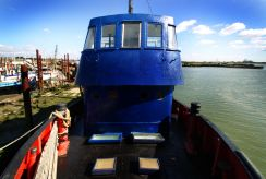 1956 Houseboat 93ft port Tug conversion