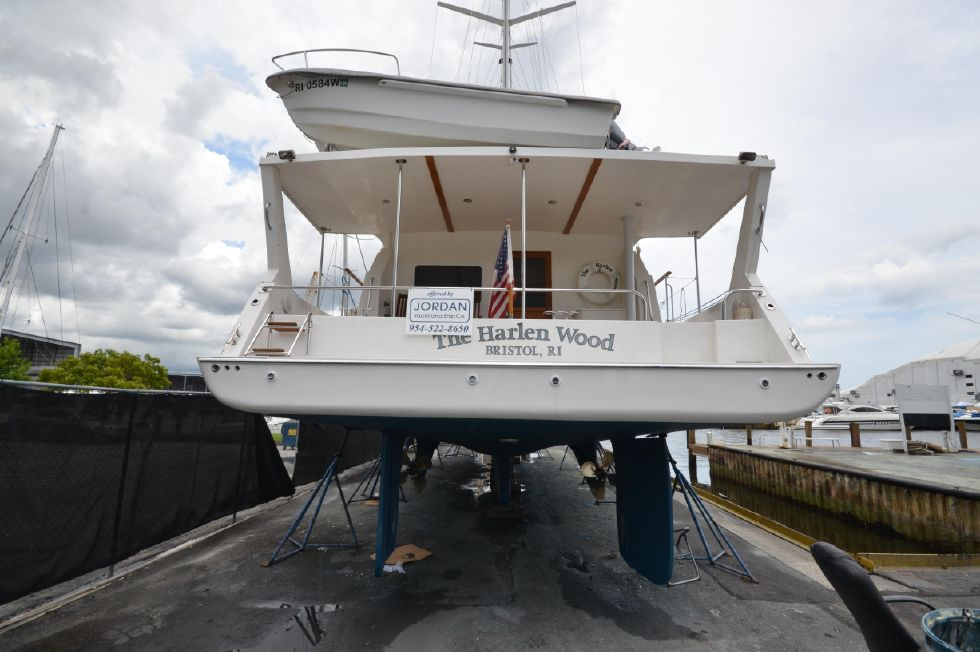 2010 Shannon 53 HPS 60 Motorsailor ICW Rig - Haul out August 2019