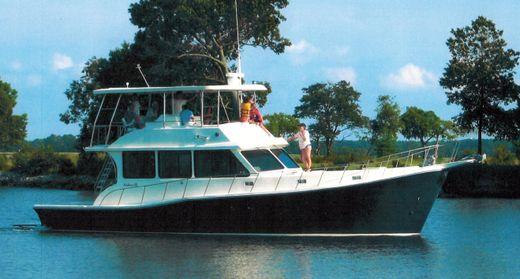 2004 Glass Boat Works Custom Chesapeake Downeast Flybridge