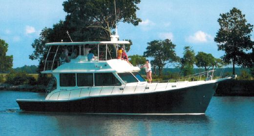 2004 Glass Boat Works Custom Chesapeake Downeast Flybridge