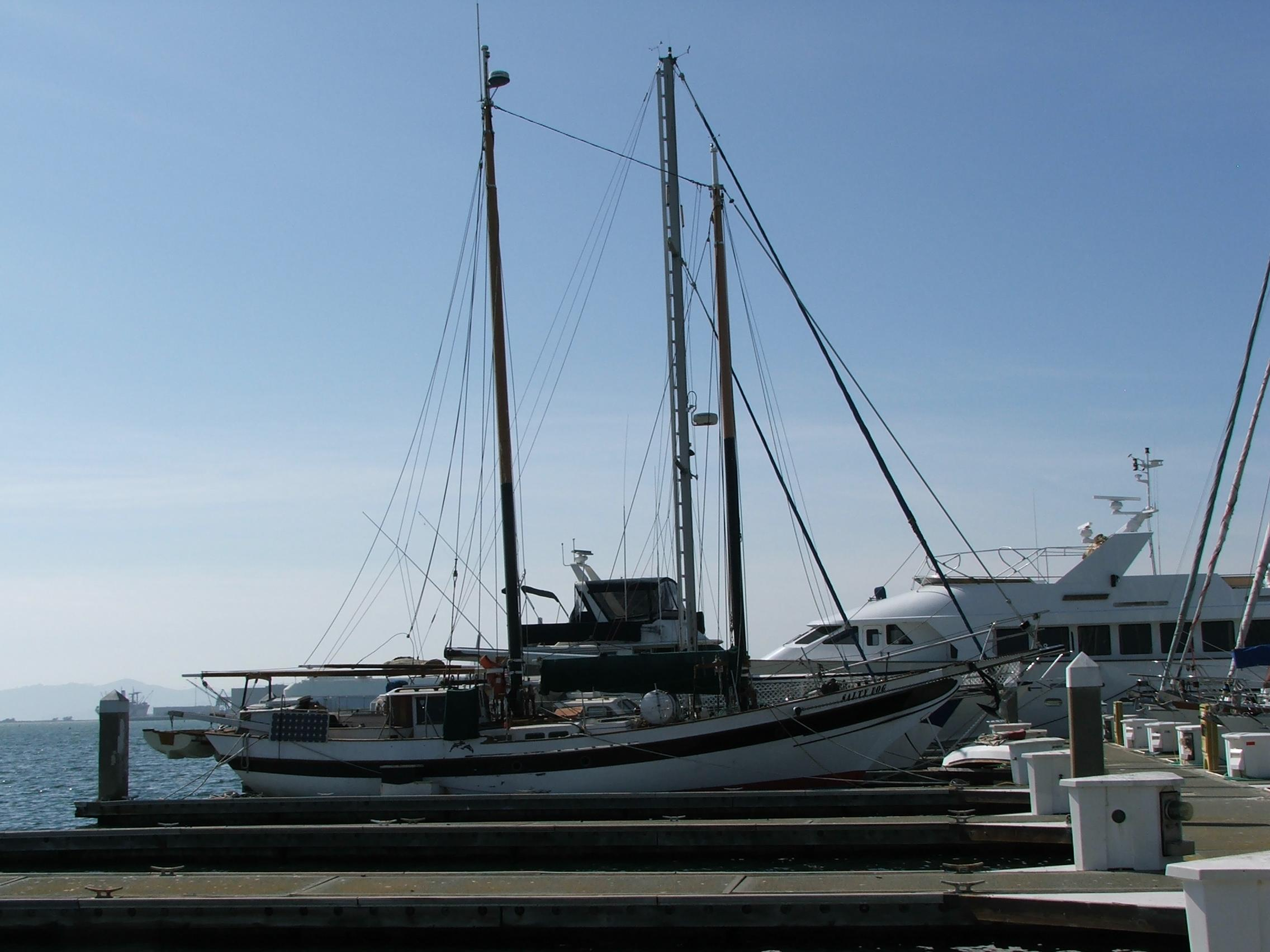 Schooner boat listings in ca for 68 garden design gaff rigged schooner
