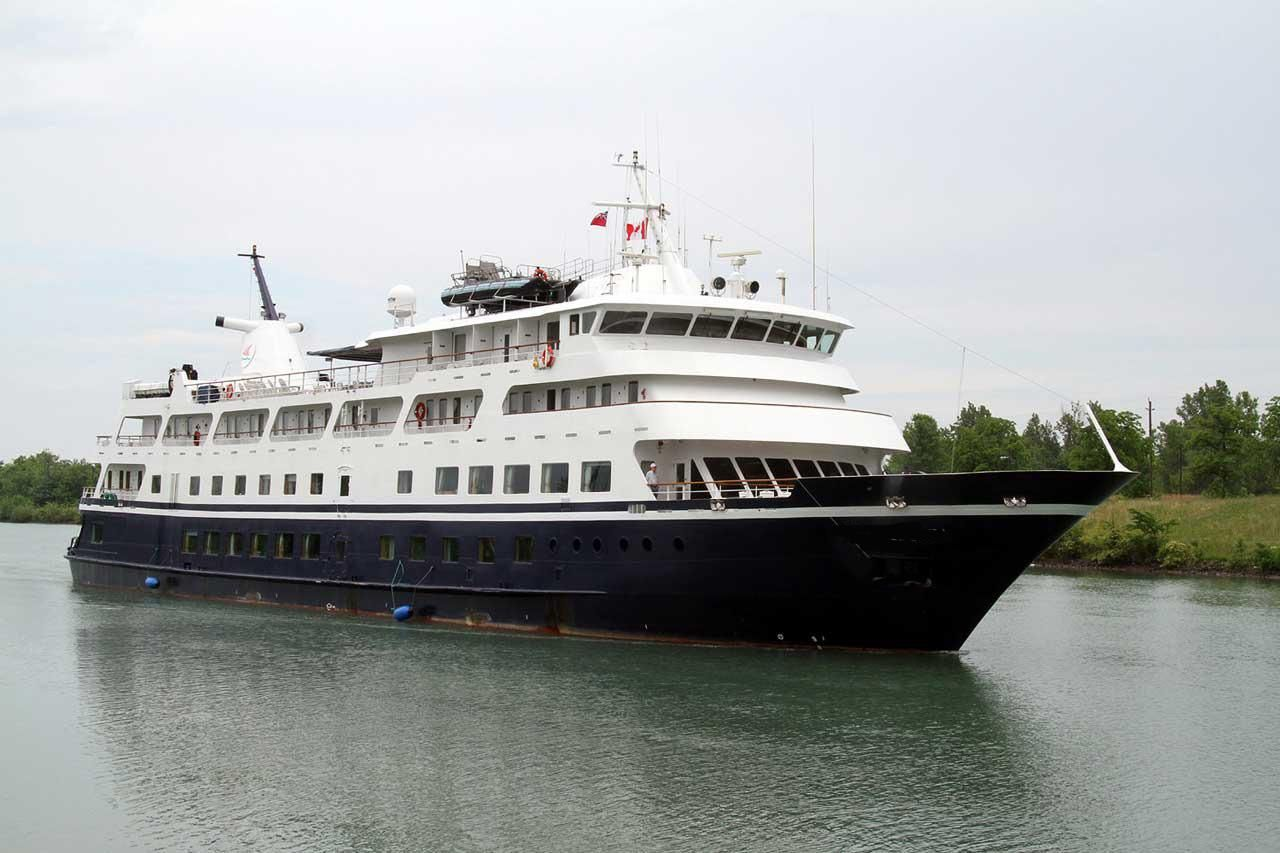 1988 small cruise ship 130 passengers stock no s2285 for Top small cruise lines