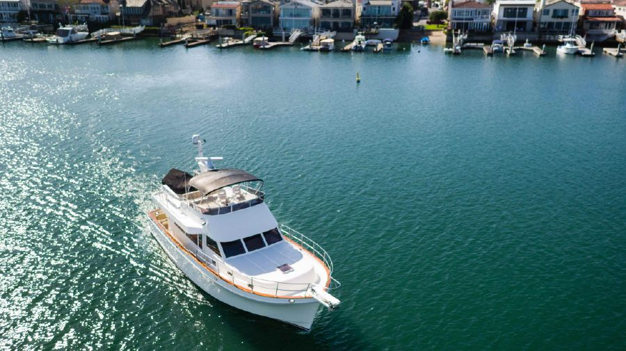 Ocean Alexander 48 Classicco Yacht for sale in Newport Beach