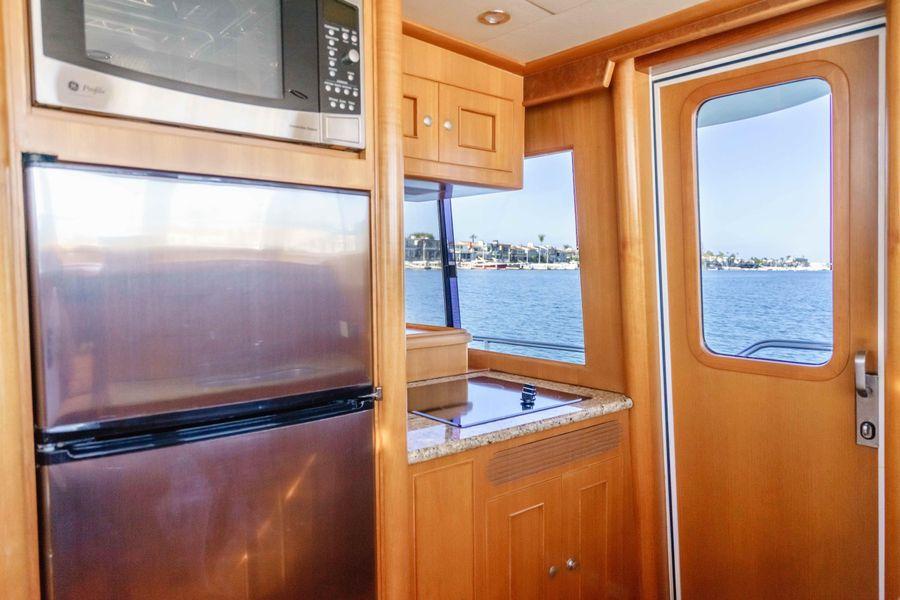 Ocean Alexander 48 Classicco Galley Refrigerator