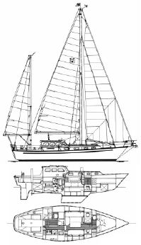 1981 Mariner Pilothouse 38