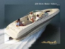 2001 Sea Ray 260 Bow Rider Select