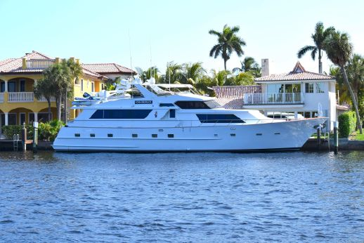 1989 Broward 85 Raised Pilothouse