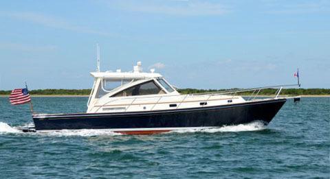 Little Harbor WhisperJet 38, Newport Brokerage Boat Show, RI