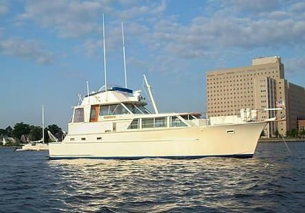 1974 Hatteras Yacht Fisherman