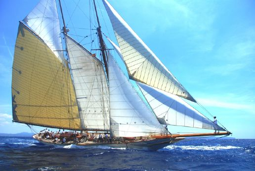 2003 William Fife Classic Schooner Myanmar