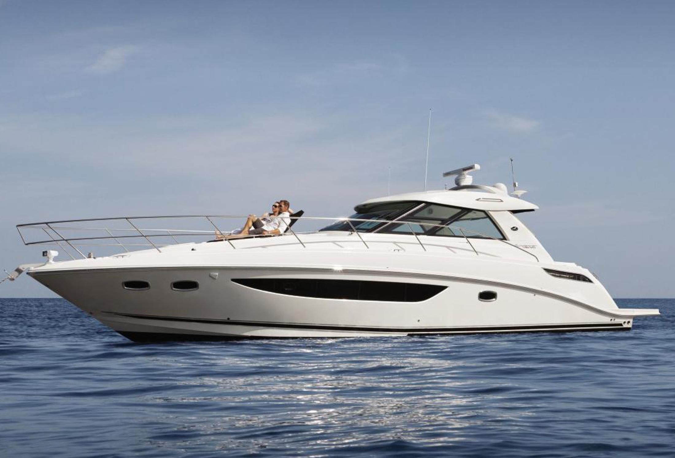 2013 sea ray 450 sundancer power boat for sale www for Sea ray motor yacht for sale