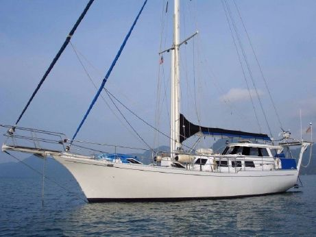 1990 Custom Pilothouse Bluewater Cutter