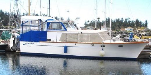 1976 Roughwater 41 Pilot House