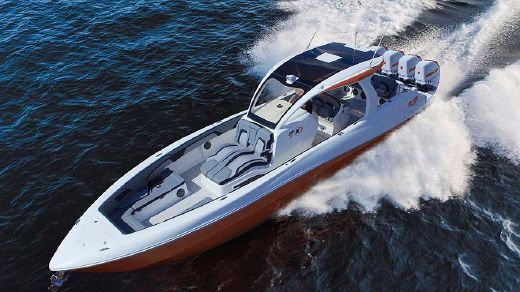 2017 Deep Impact Custom Boats 399 Sport
