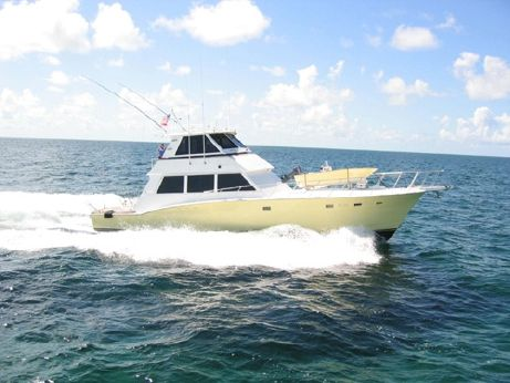 1980 Hatteras Convertible Enclosed Bridge