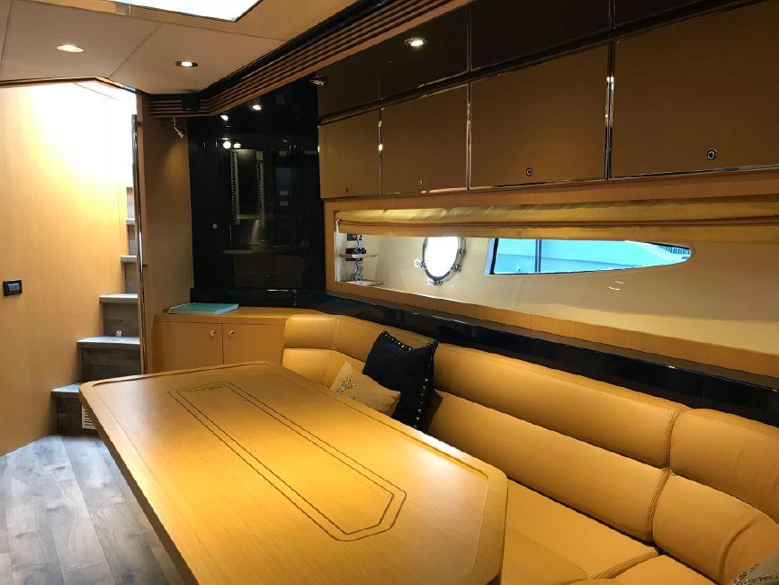 Riva 59 Mercurius Super Yacht Interior Salon