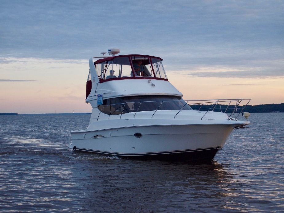 2006 Silverton 34 Convertible Power Boat For Sale - www