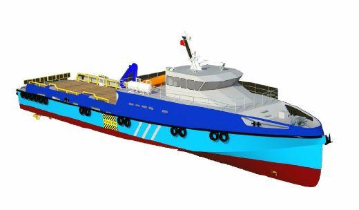 2016 New Build - 40m Fast 100 Pax Crew Boat