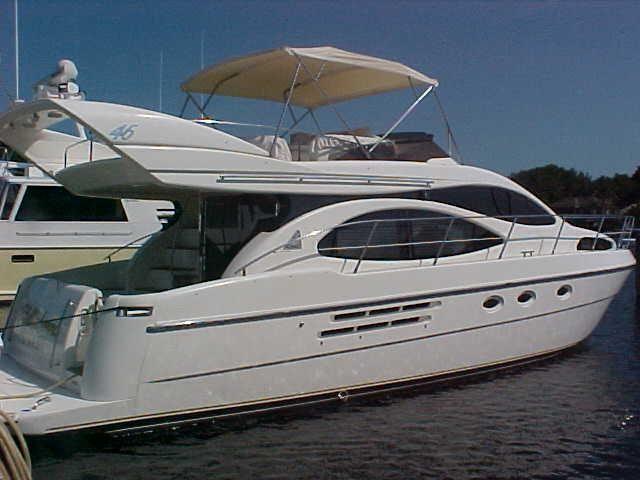 2001 Azimut 46 Flybridge Power Boat For Sale Www