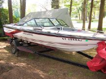 1988 Dixie Boat Works 299 Skier
