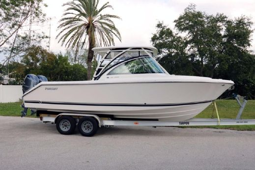 2017 Pursuit DC 265 Dual Console