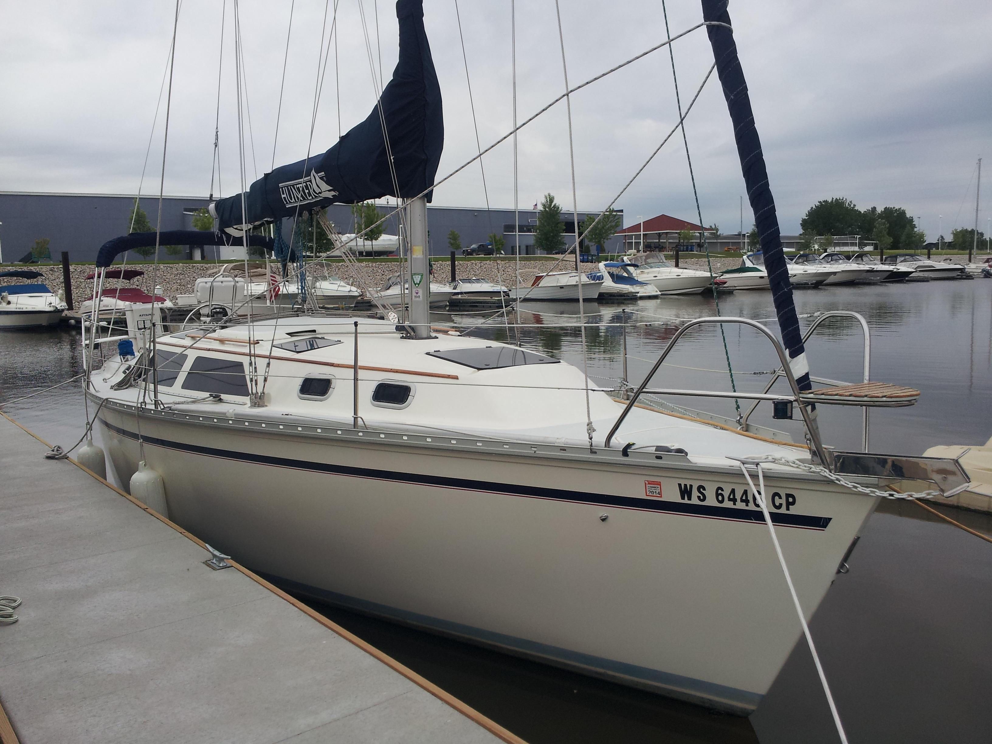 30 ft 1991 hunter 30t