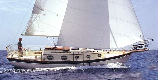 27 ft 1985 pacific seacraft 27 orion mark ii, cutter