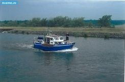 1972 Holland Boat (nl) Holl. Werftbau Stahlyacht + Sattelauflieger