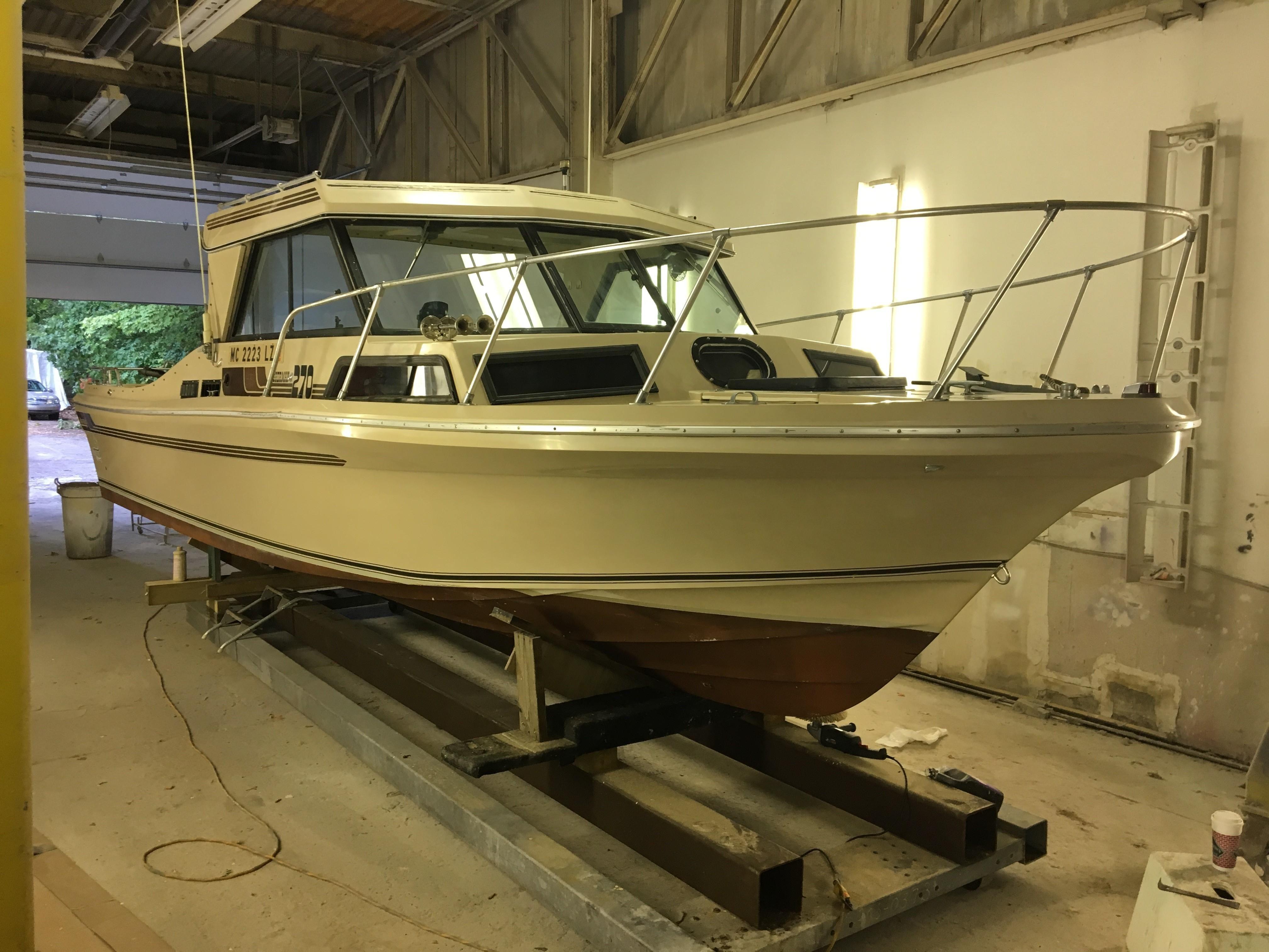 1985 Sportcraft 270 Fisherman Power Boat For Sale Www