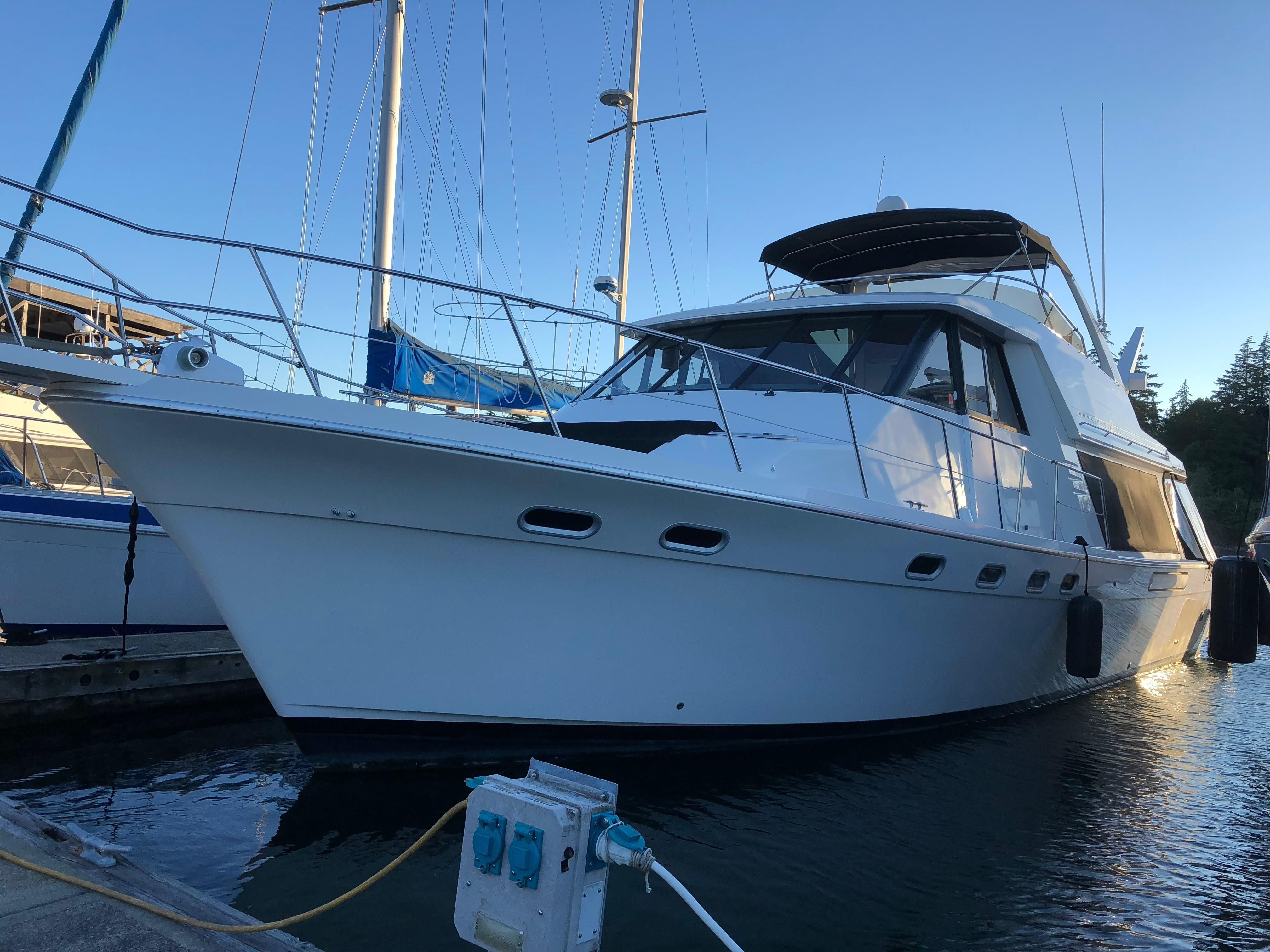 1994 Bayliner 4788 Pilothouse BOW THRUSTER Power Boat For ...
